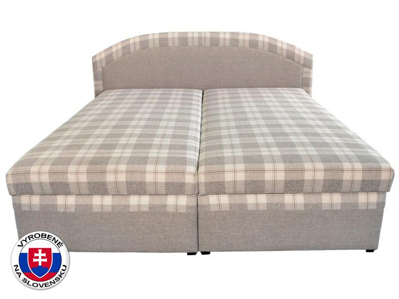 Manželská posteľ 180 cm Lucia (s molitanovým matracom)
