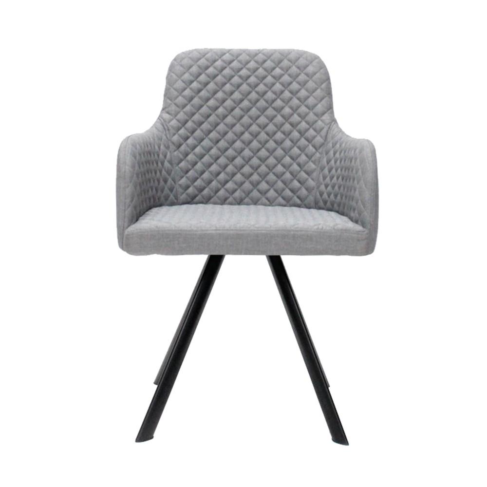 Sivá jedálenská stolička LABEL51 Tigo