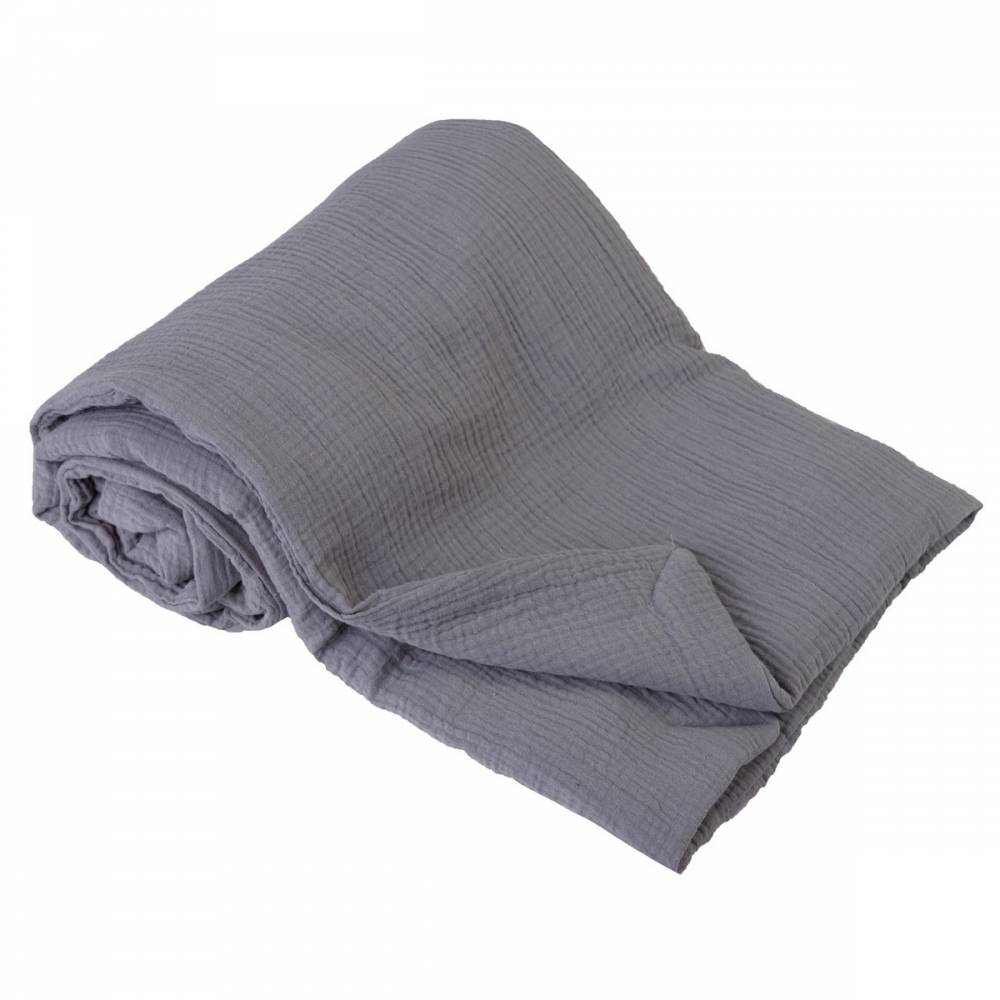 Babymatex Detská deka sivá, 75 x 100 cm