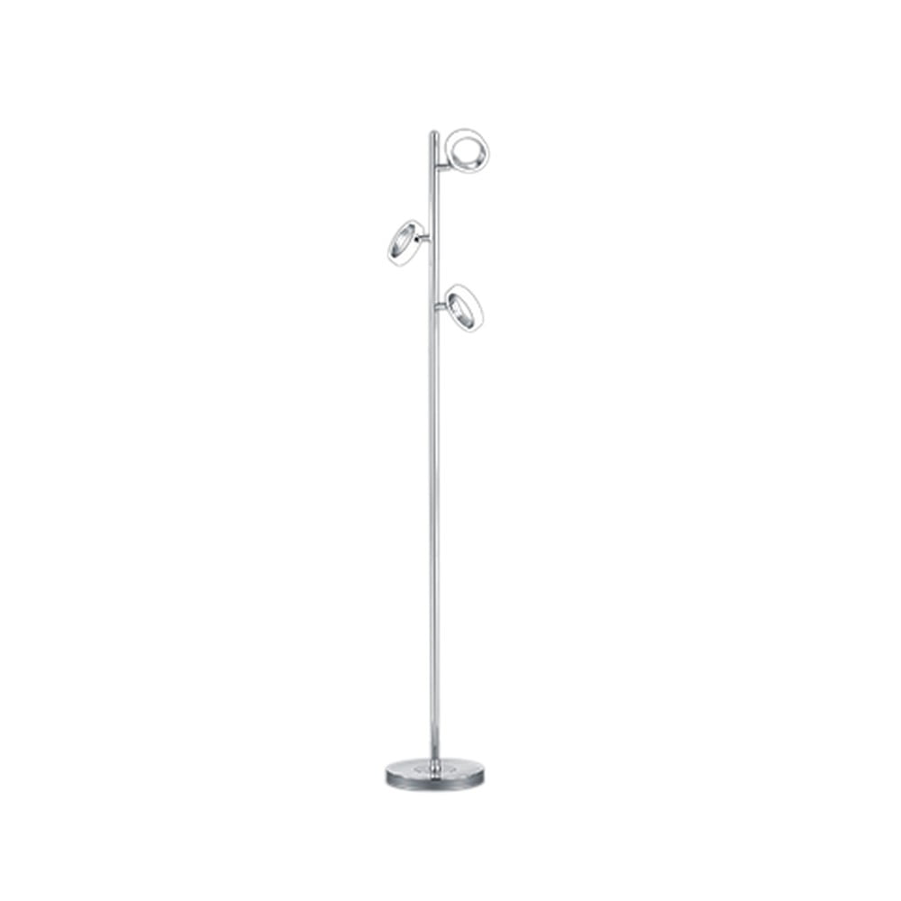 Stojacia LED lampa Trio Corland, výška 1,5 m