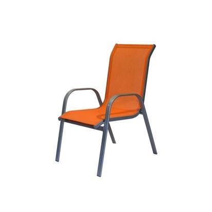 Zahradná stolička oranžová