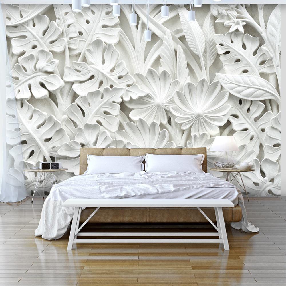 Veľkoformátová tapeta Bimago Alabaster Garden, 300x210 cm
