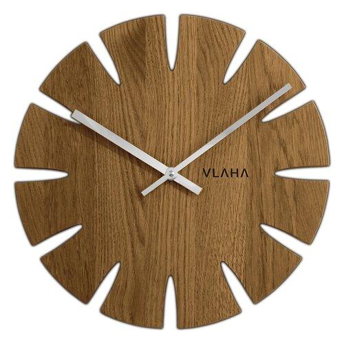 Dubové hodiny vlaha VCT1014, 33cm