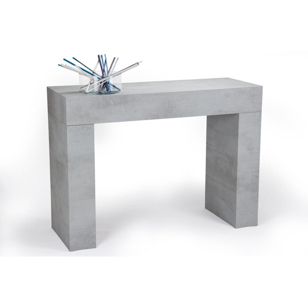 Konzolový stolík v dekore betónu MobiliFiver Evolution