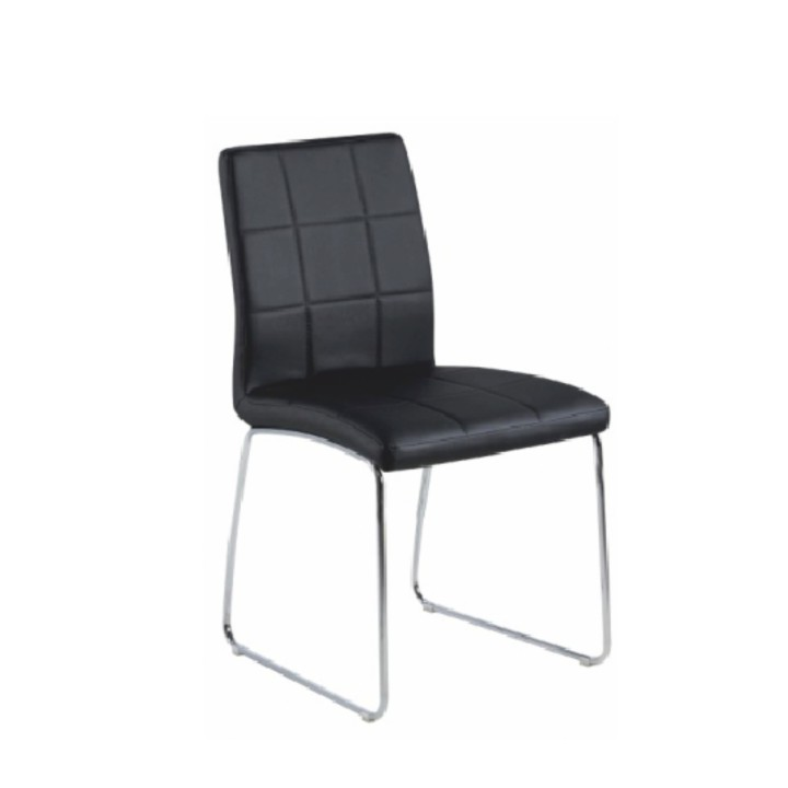 Jedálenská stolička Sida (čierna)