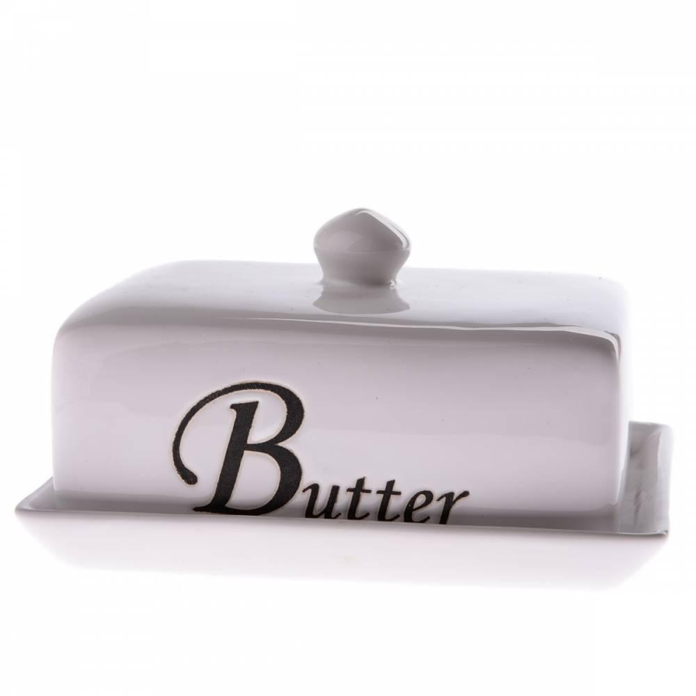 Keramická máslenka Butter 16,5 x 12 x 9,5 cm