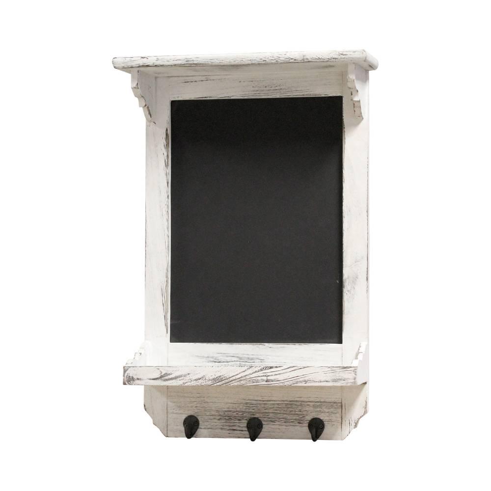 Poznámková tabuľa biela antik