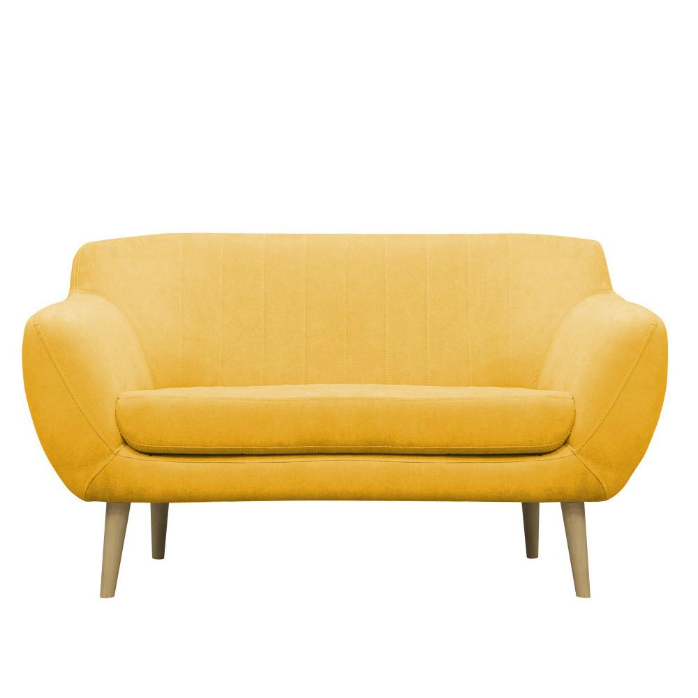 Žltá pohovka pre dvoch Mazzini Sofas Sardaigne