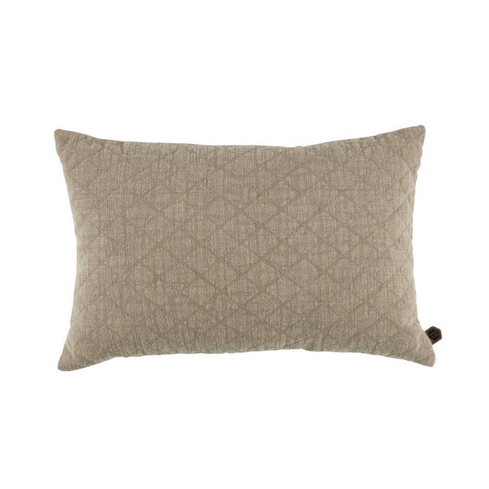 Béžový bavlnený vankúš De Eekhoorn Guides, 40×60cm