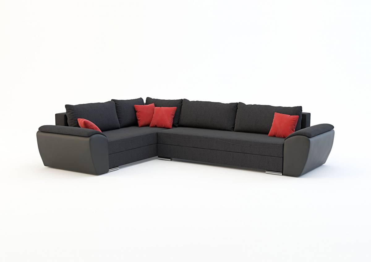 Rohová sedačka VENICE, látka na výber