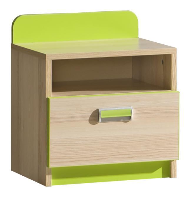 Nočný stolík L12 (zelená)