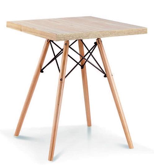 MOCCA konferenčný stolík, buk/dub sonoma