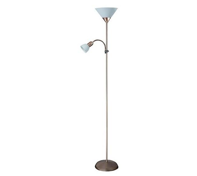 Stojaca lampa Rabalux Action 4064 bronzová / biela