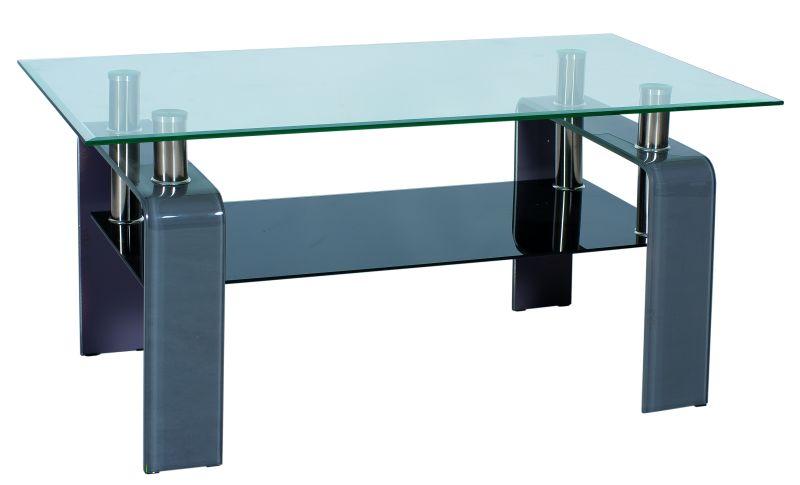 Konferenčný stolík Stella šedý