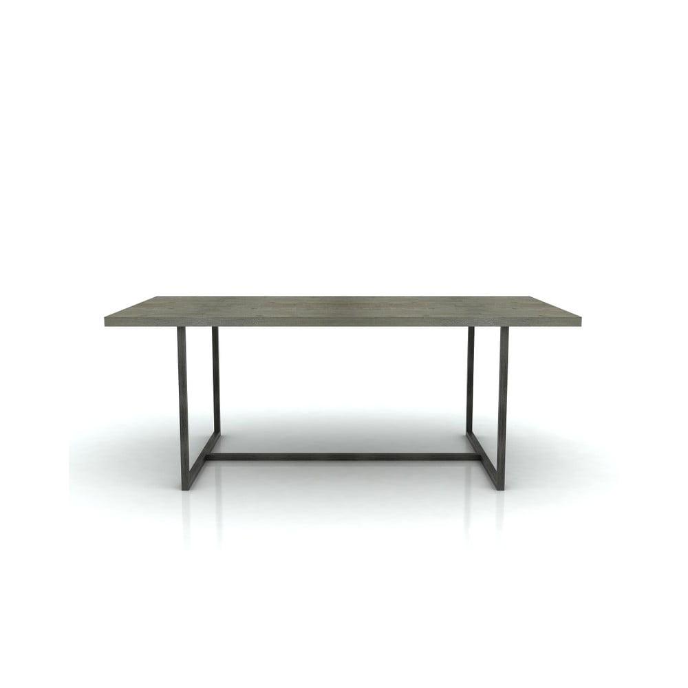 Jedálenský stôl z akáciového dreva Livin Hill Flow, 100 x 200 cm