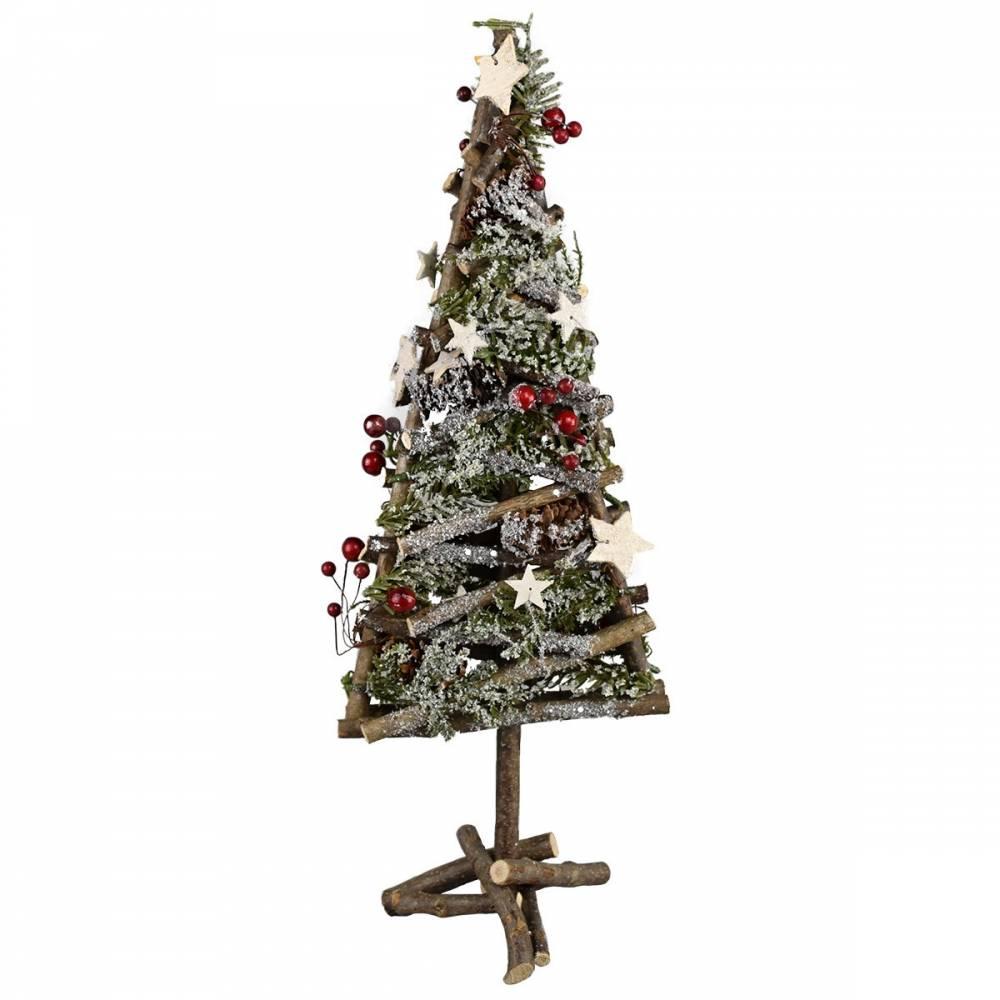 Vianočný ratanový stromček Arbre, 48 cm