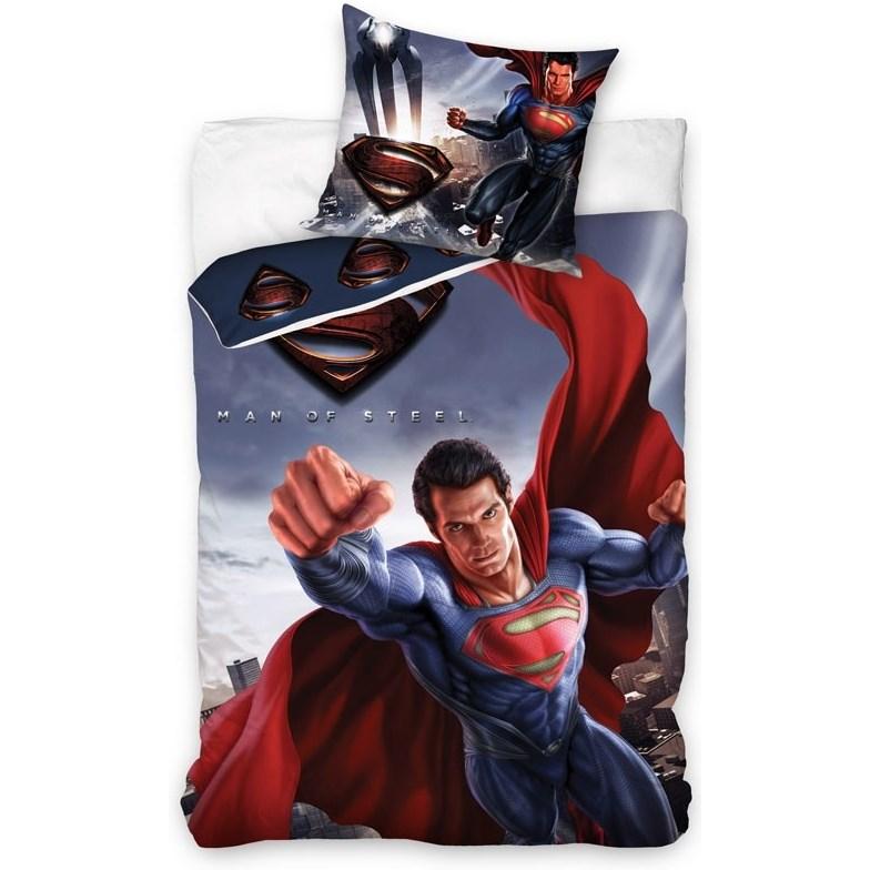 Carbotex Obliečky Superman bavlna 140/200, 70/90 cm