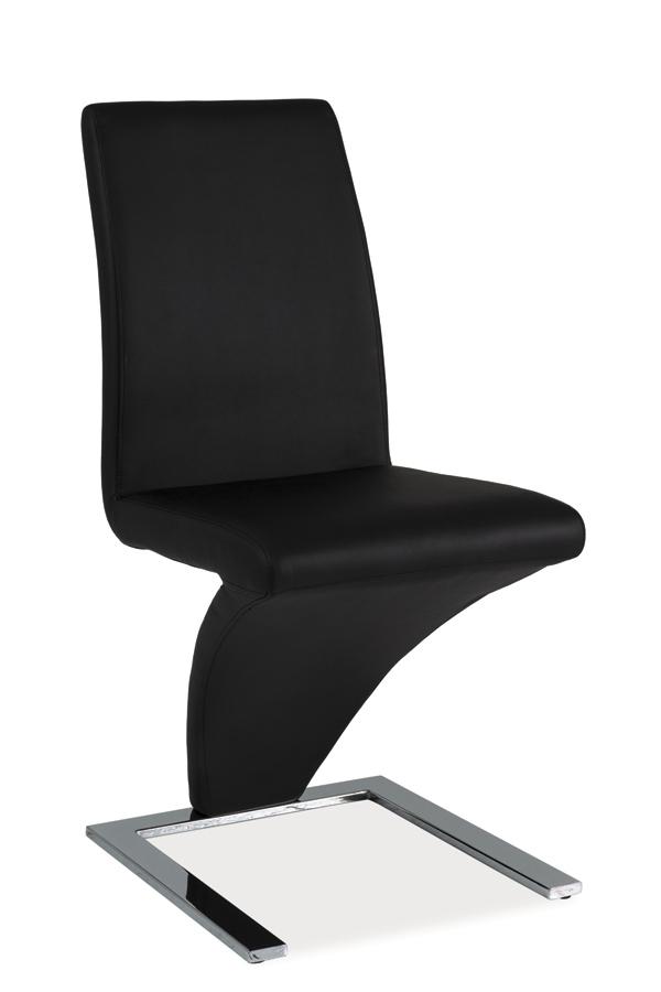 HK-010 jedálenská stolička, čierna