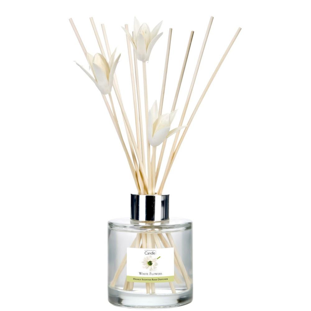 Aromatický difuzér Copenhagen Candles White Flowers, 100 ml