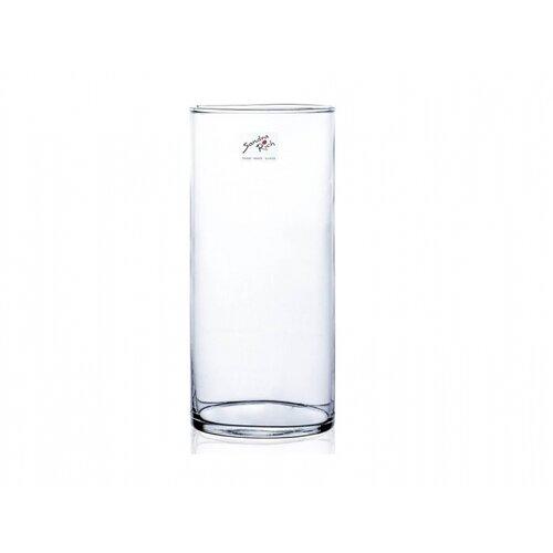 Sklenená váza Cyli, 9 x 20 cm