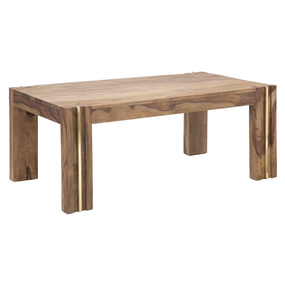 Konferenčný stolík z dreva sheesham Mauro Ferretti Elegant