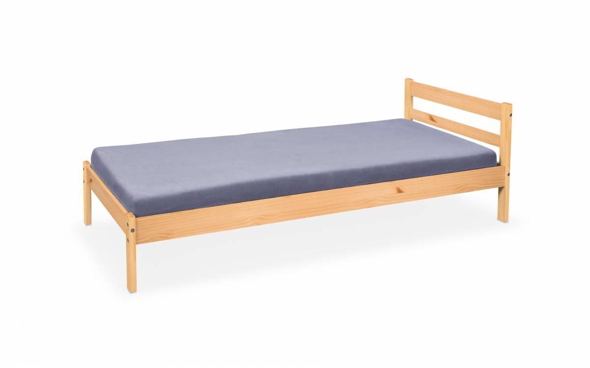 Jednolôžková posteľ 90 cm Finy (borovica)