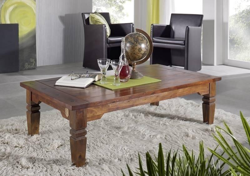 GEOFFREY OXFORD #428 Kolonial konferenčný stolík 110x60 masívne agátové drevo