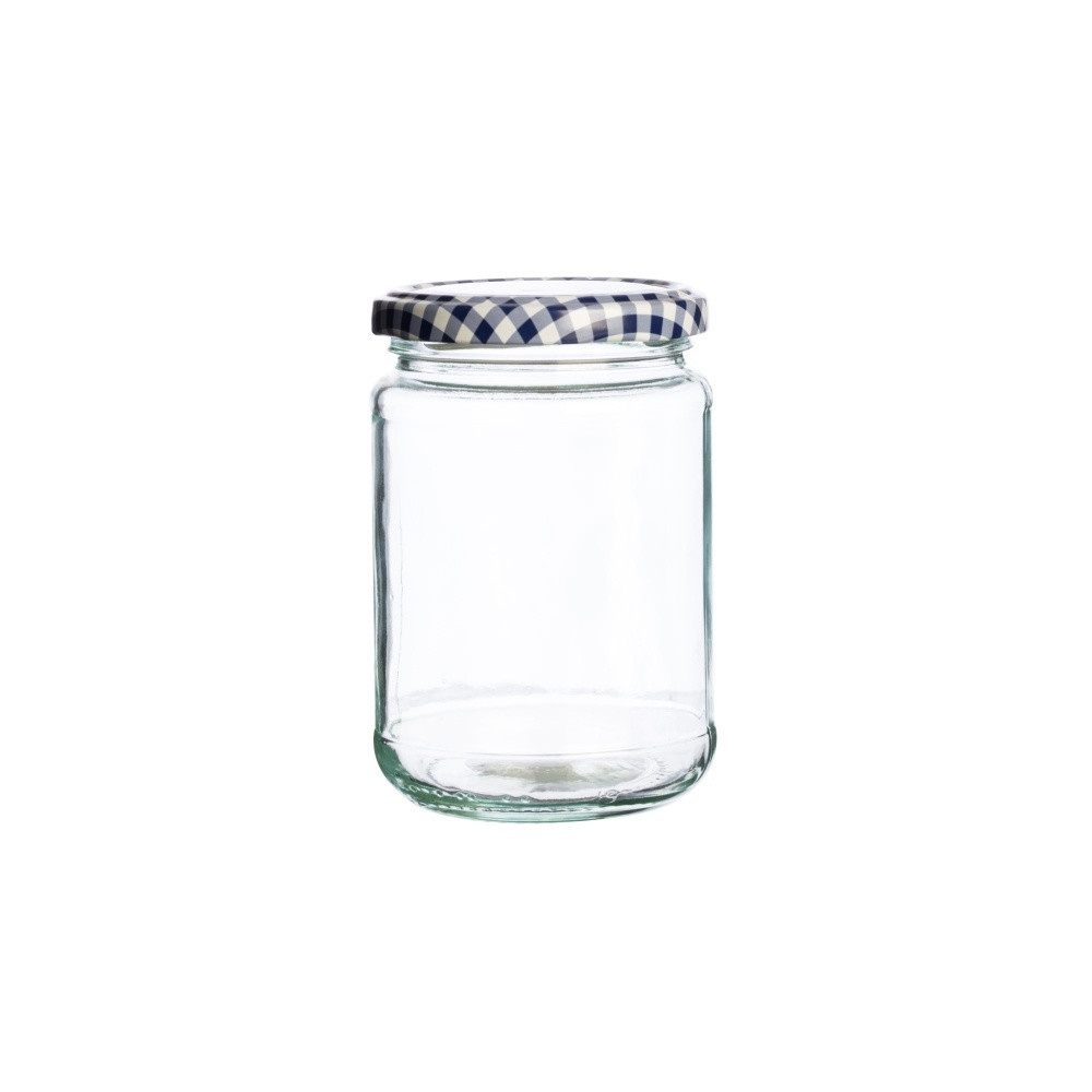 Sklenený zavárací pohár Kilner Round, 370 ml