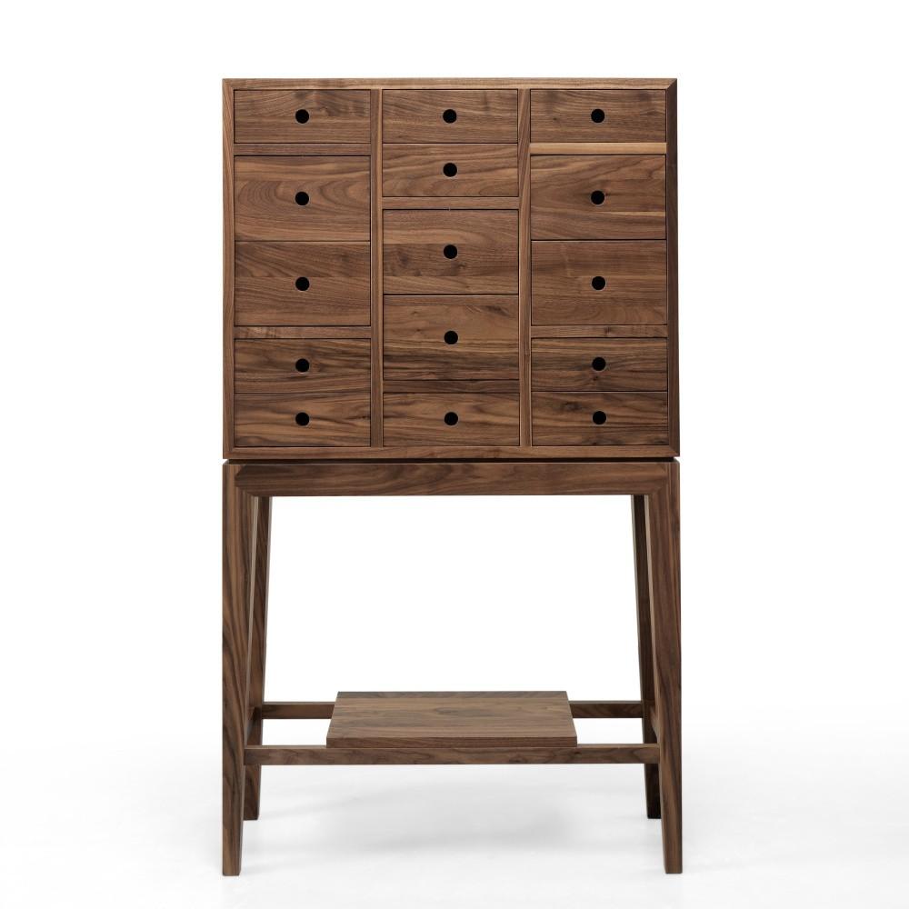 Komoda z orechového dreva s 15 zásuvkami Wewood - Portugues Joinery Contandor
