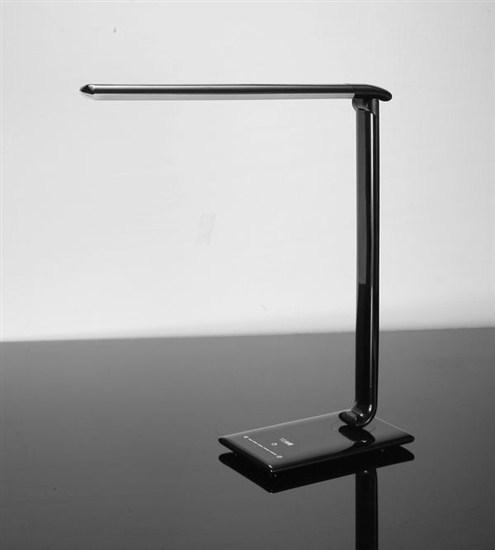 Solight Stolná lampička stmievateľná, čierna