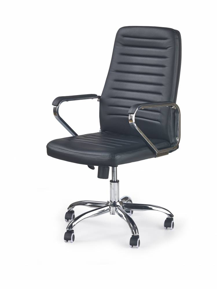 Kancelárske kreslo Atom (čierna)