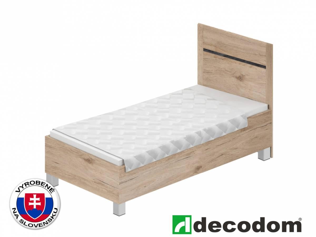 Jednoložková posteľ 90 cm Decodom Medasto P90