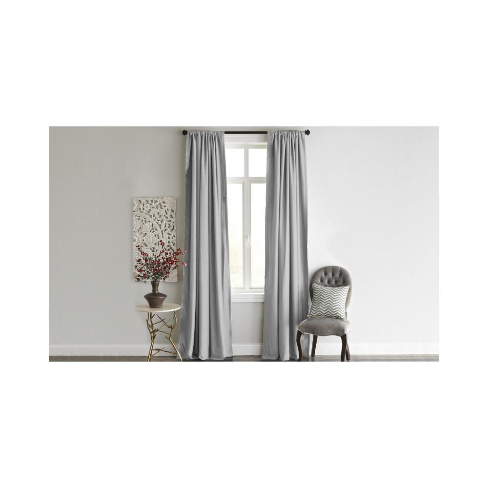 Sivý záves Home De Bleu Blackout Curtain, 140x240cm