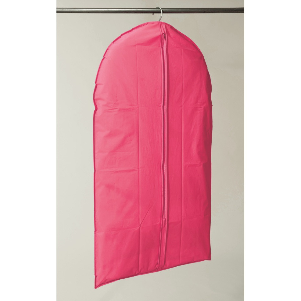 Textilný závesný obal na šaty Compactor Garment Hot Pink, 137 cm