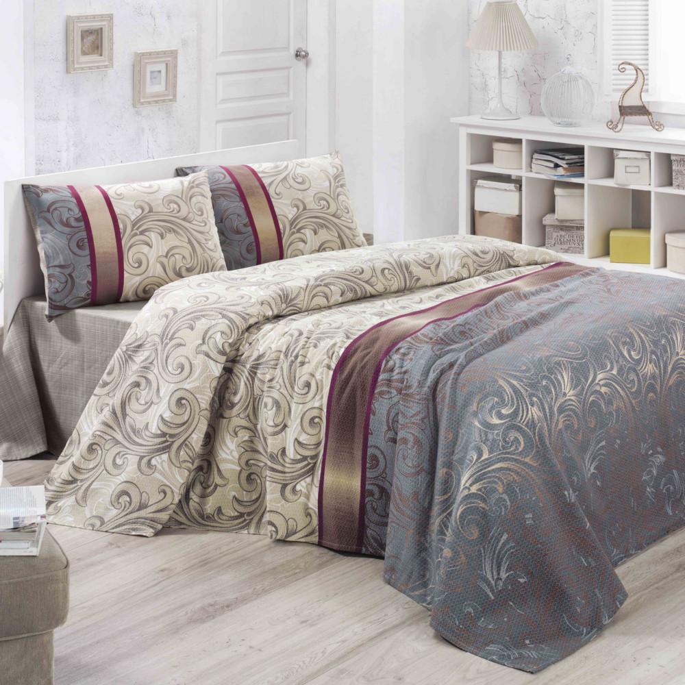 Ľahká prikrývka cez posteľ Hurrem, 200x230cm