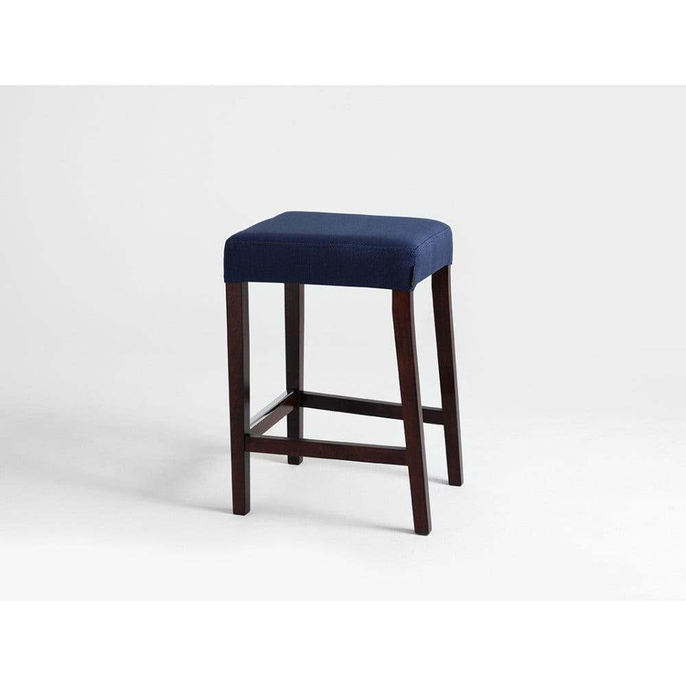 Barová stolička v dekore orechového dreva Custom Form Wilton Inkjet