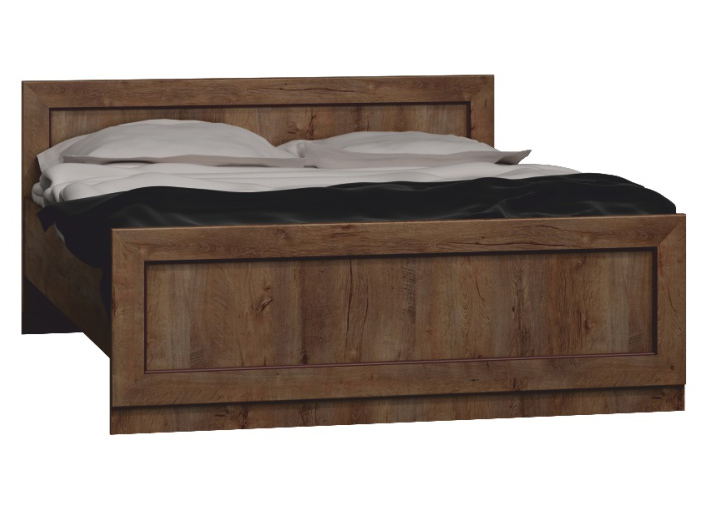 Manželská posteľ 160 cm Tedy Typ T20 (s roštom)