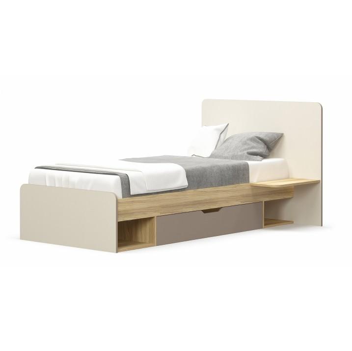 Jednolôžková posteľ 90 cm Lotty 1S/90 (s úl. priestorom)