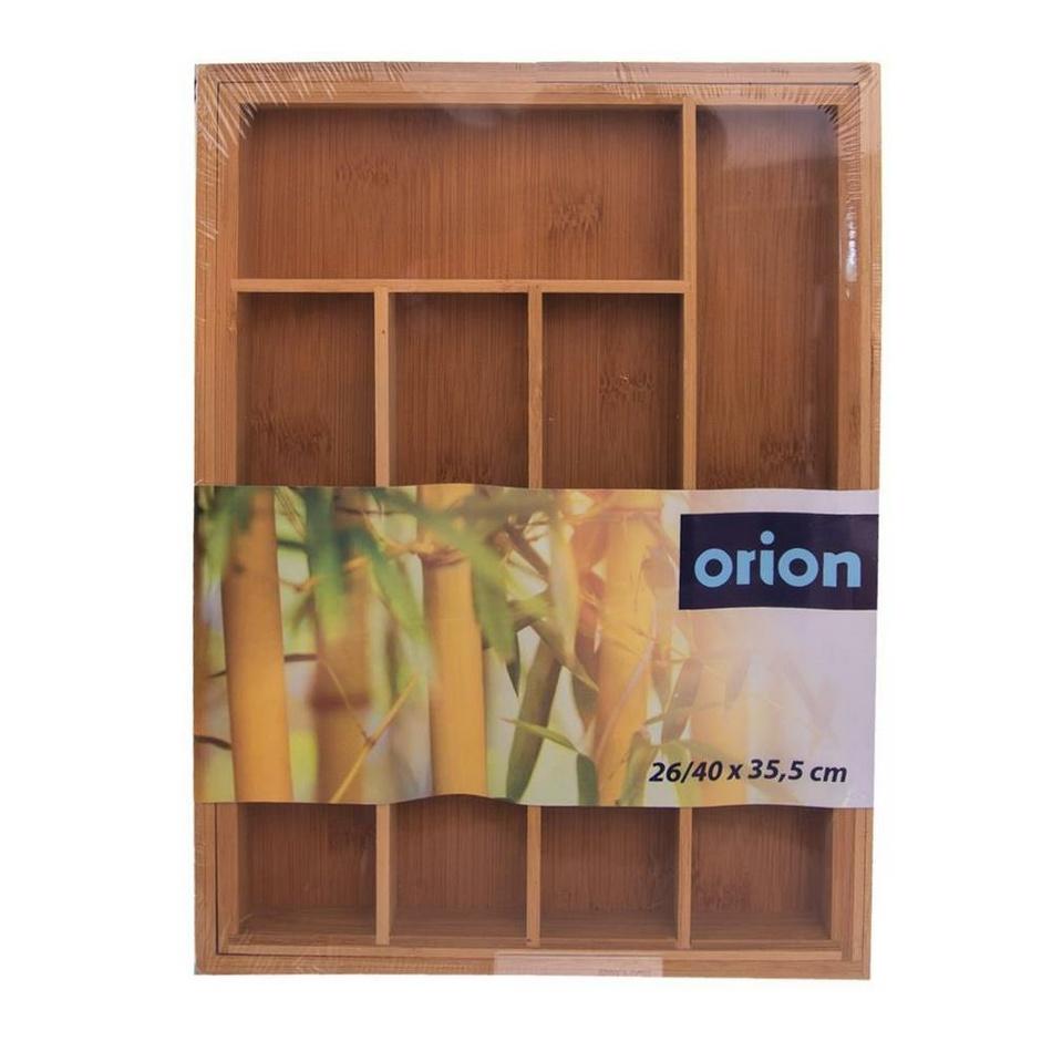 Orion Bambusový rozkladací príborník