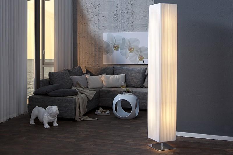 Stojaca lampa BIG ORION XXL 190cm - biela