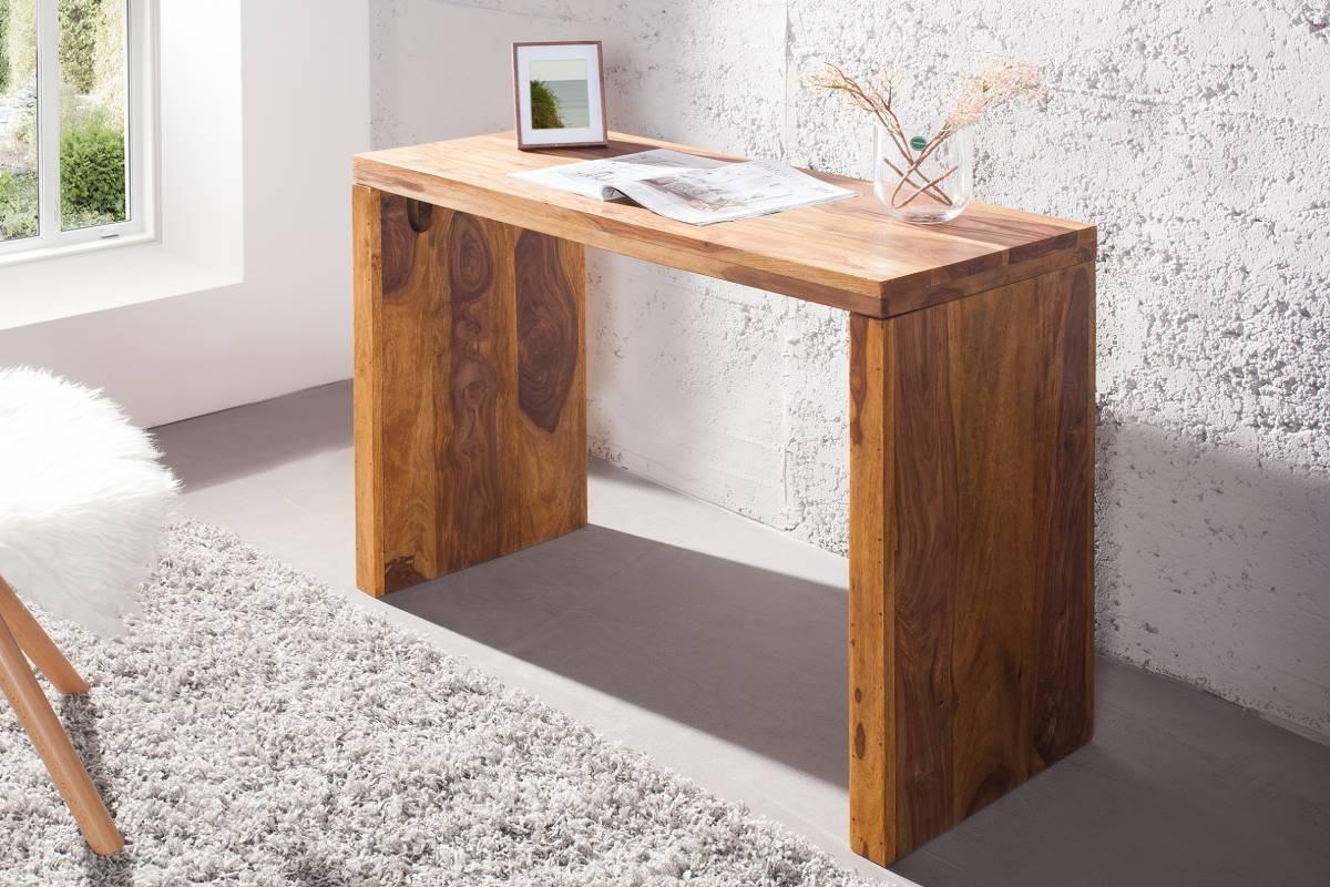 Písací stôl MAKASSAR - prírodná