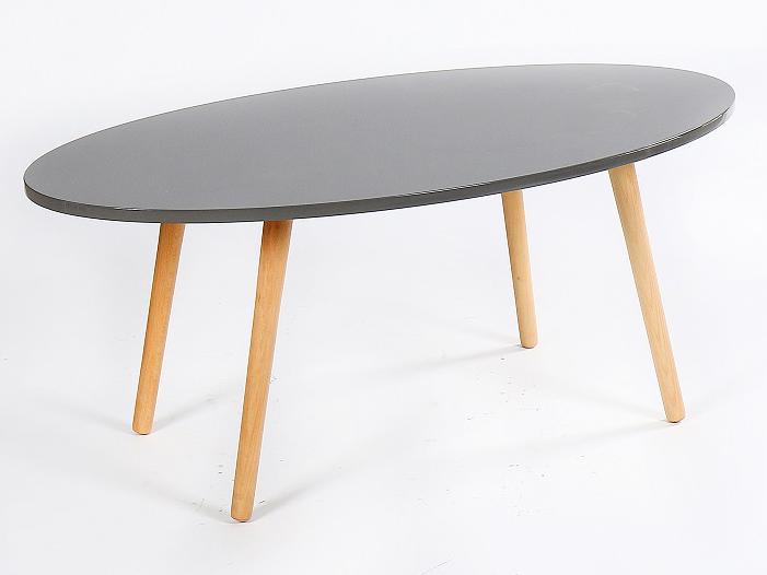 Konferenčný stolík Bazzy 1 (sivá)
