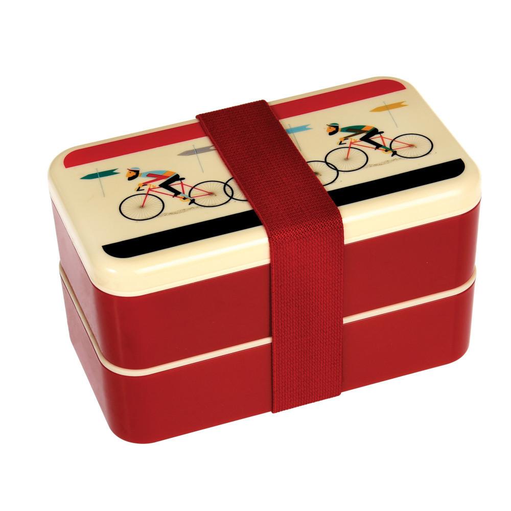 Obedový box s príborom a gumičkou Rex London LeBicycle