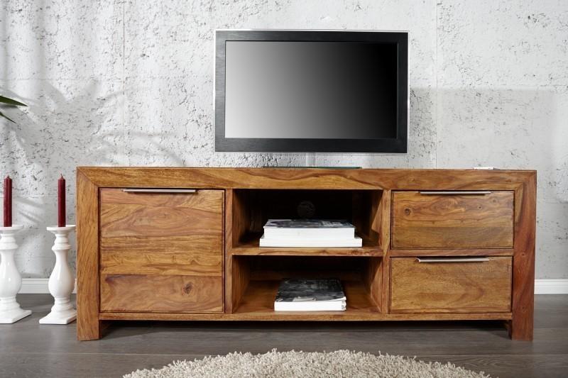 TV stolík LAOSE 135 cm - prírodná