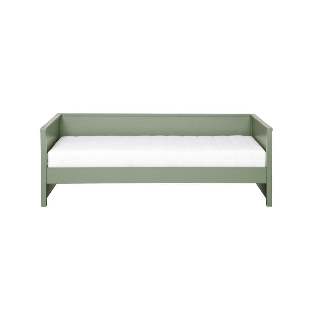 Zelená posteľ/sofa DeEekhoorn Nikki, 200 x 100 cm