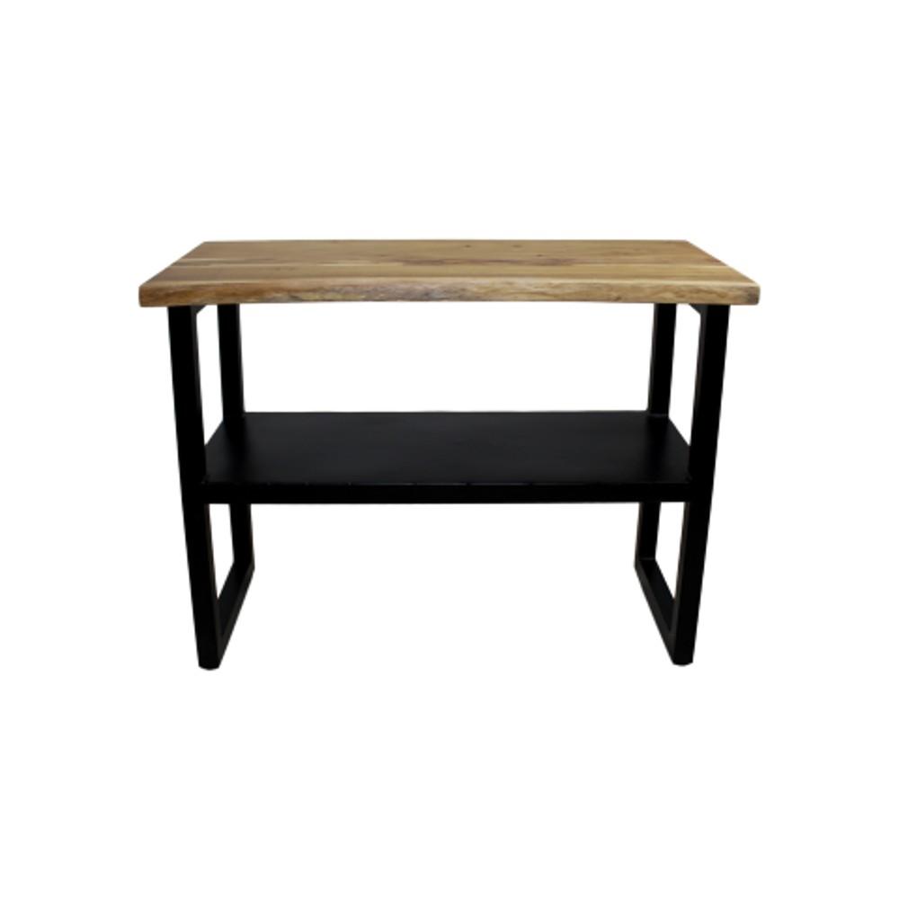 Konzolový stolík z dreva a kovu HSM collection SoHo