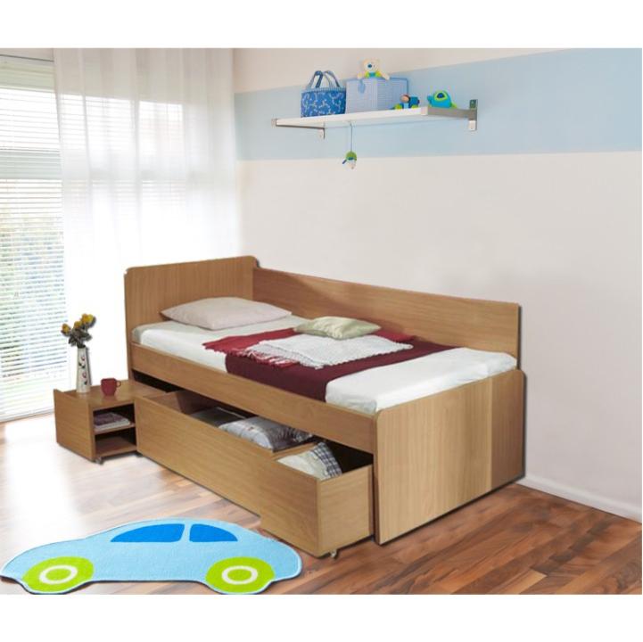 TEMPO KONDELA OTO 90 posteľ - buk