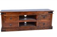 Furniture nábytok  Masívny TV stolík z Palisanderu  Farhád  148x55x55 cm