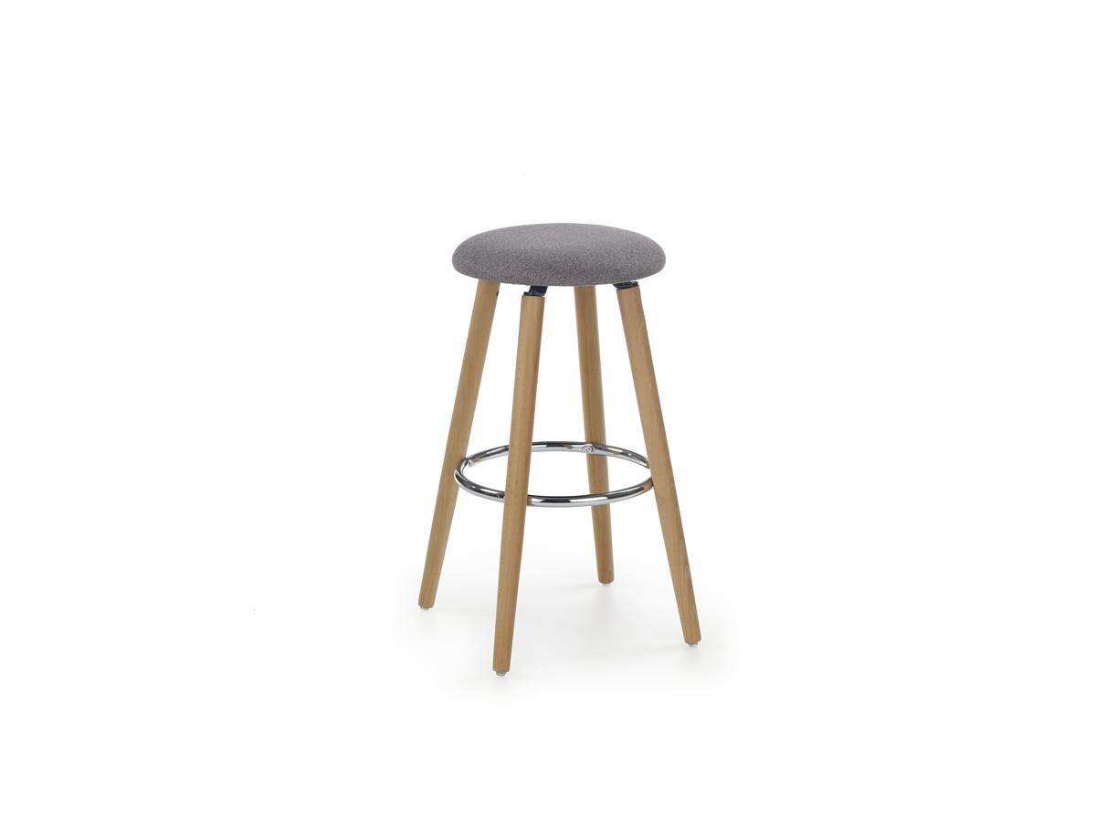 Barová stolička H-76 F (svetlosivá)