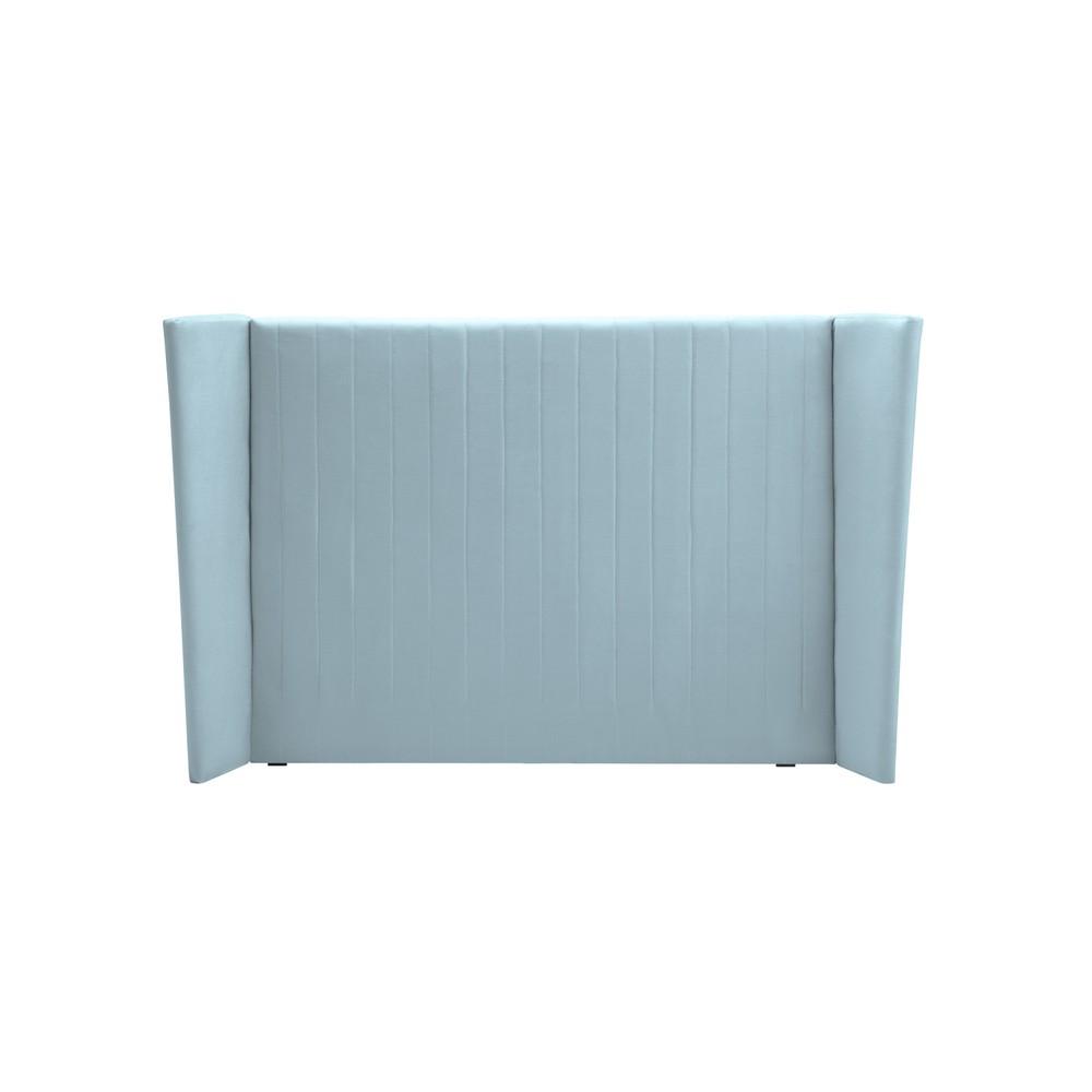 Pastelovomodré čelo postele Cosmopolitan design Vegas, 180×120 cm